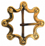 40mm Solid Brass Octo Chain Buckle. Code BUC043